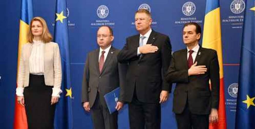 Preluarea de către Bogdan Aurescu a mandatului de ministru al afacerilor externe