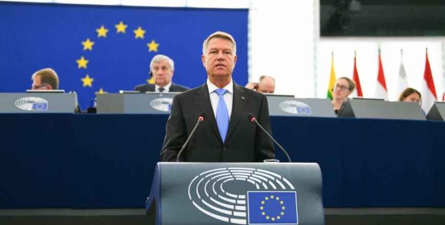 Discursul Președintelui României privind viitorul Europei