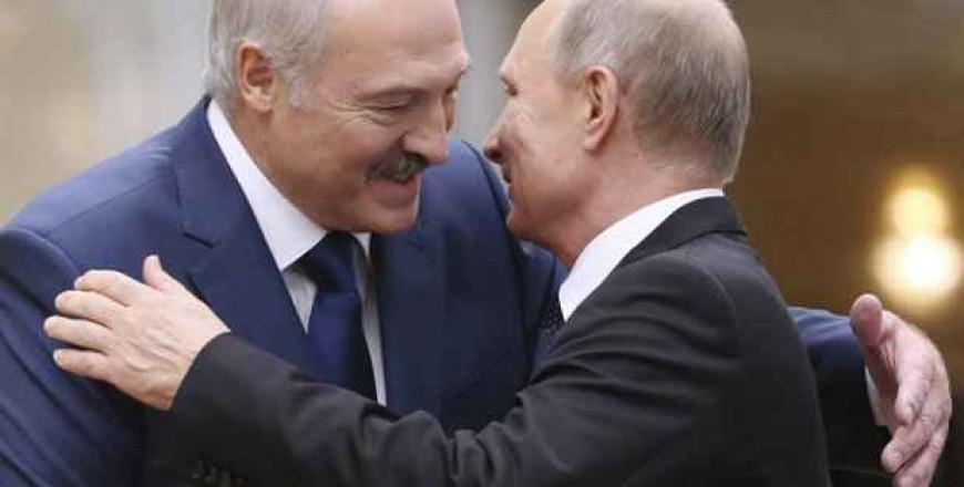 Putin și Lukașenko la Soci