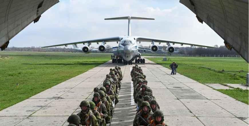 Rusia a anunţat retragerea trupelor