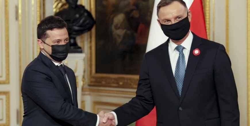 Vizita de lucru a președintelui Ucrainei la Varșovia