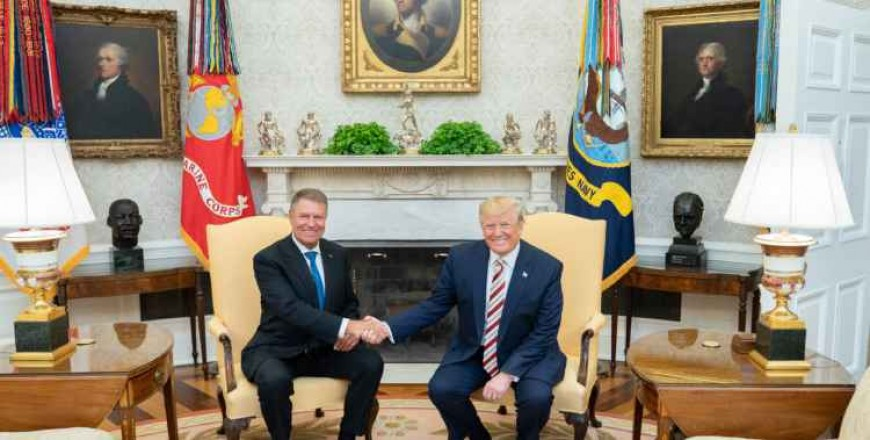 Joint Statement from President of the United States Donald J. Trump and President of Romania Klaus Iohannis