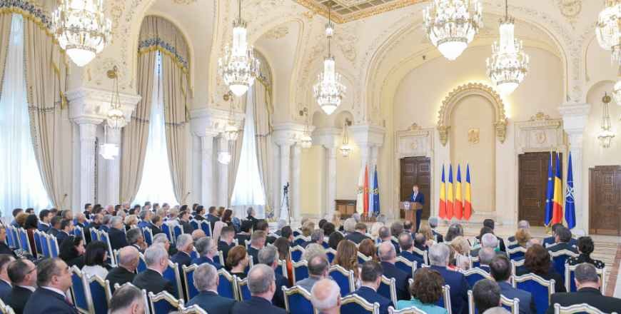 Address by the President of Romania on the occasion of the annual meeting with the heads of Romanian diplomatic missions