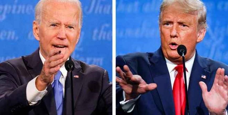 Ultima dezbatere dintre Joe Biden și Donald Trump