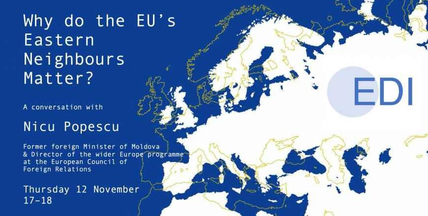 De ce contează vecinătatea Estică a Uniunii Europene?