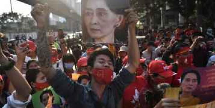Lovitura de stat din Myanmar