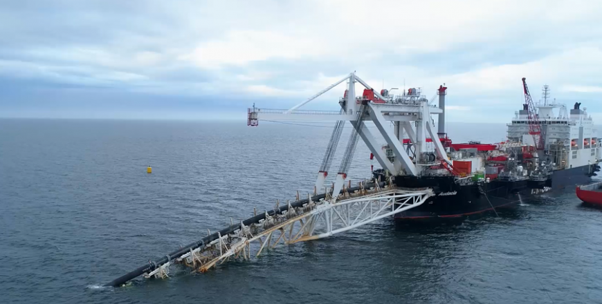 Nord Stream 2 project continues