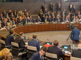 NATO Foreign Ministers meeting.  Initiatives and decisions