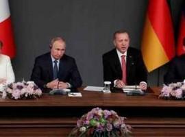 Declarație comună a Președinților Turciei, Franței, Rusiei și a Cancelarului Germaniei privind Siria