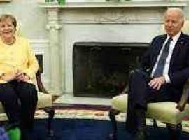 Întâlnire Biden-Merkel. Continuă divergențele privind gazoductul Nord Stream 2
