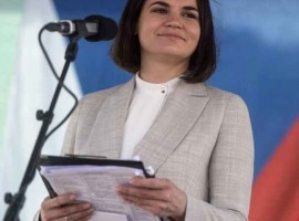 Tsikhanouskaya vizitează SUA