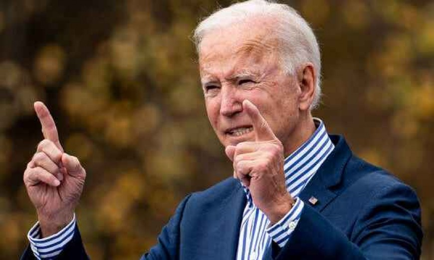 Joe Biden – America Must Lead Again