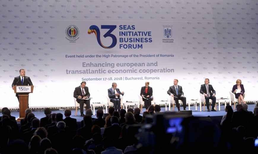 Concluzii privind desfășurarea Forumului de afaceri al Inițiativei celor Trei Mări (ROMEXPO, București, 17-18.09.2018)